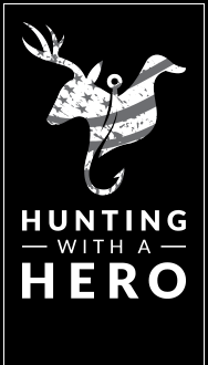 Hunting With A Hero Logo